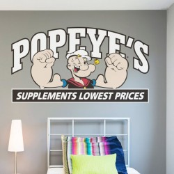 Sticker mural Popeye