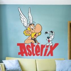 Sticker mural Astérix