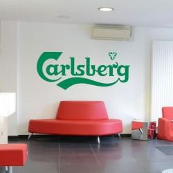 Sticker mural carlsberg