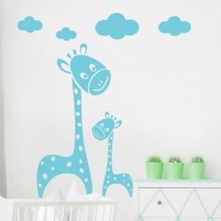 Adhésif girafes pour les...