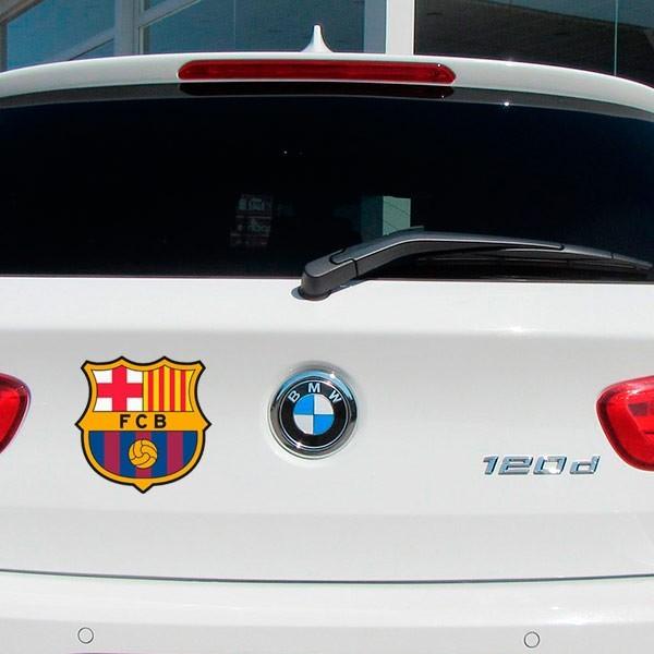 Sticker logo foot FC Barcelona