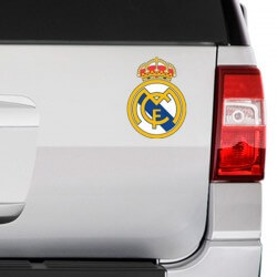 Sticker logo foot Real Madrid