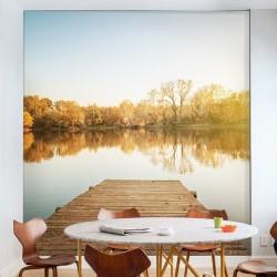 Revêtement mural lac