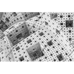 Papier peint abstrait en 3D
