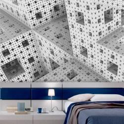 Papier peint cubes en 3D