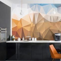 Papier peint motif en 3D