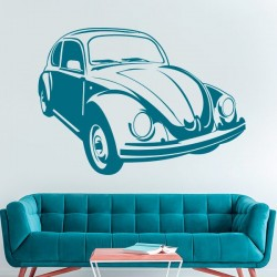 Sticker Volkswagen Beetle