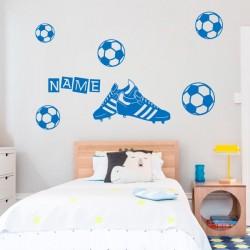 Sticker chaussures de football