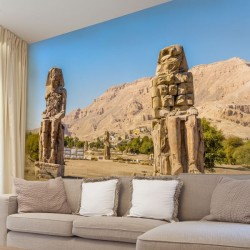 Adhésif mural voyage en Egypte