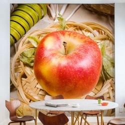 Papier peint pomme