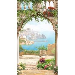Adhésif terrasse en Italie