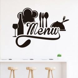vinyle décoratif menu