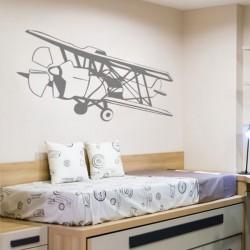 Sticker mural avion