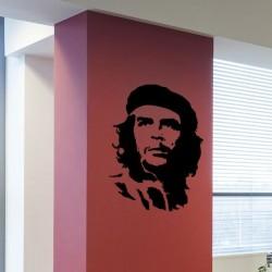 Sticker mural Che Guevara
