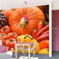 Adhésif mural fruits et...