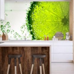 Papier peint citron vert