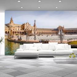 Déco murale place d'Espagne