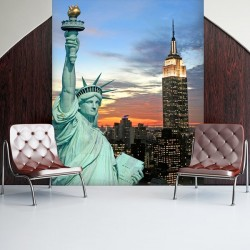 Photo murale statue de la liberté