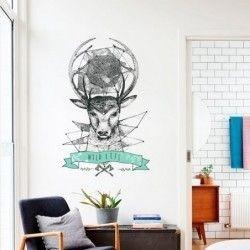 Adhésif mural wild life