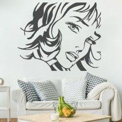 Sticker mural Pop Art 3