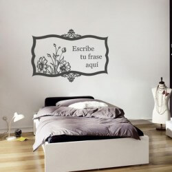 Sticker mural texte...