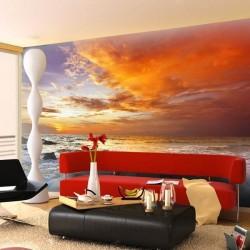 Déco murale coucher du soleil