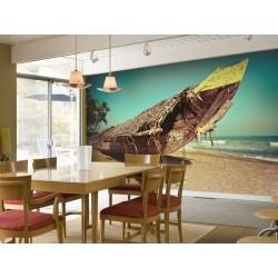 Déco murale bateau de pêche