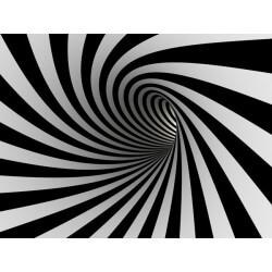 Papier peint tunnel 3D
