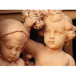 Adhésif sculpture avec enfants