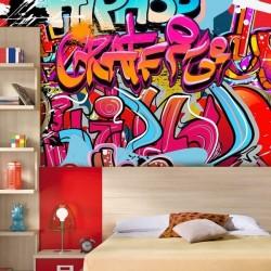 Déco murale graffitti 2
