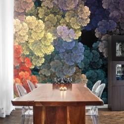 Papier peint texture colorée