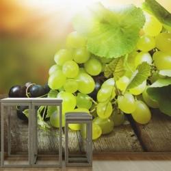 Déco murale raisins blancs
