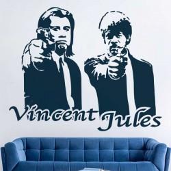 Sticker ciné Vincent Jules