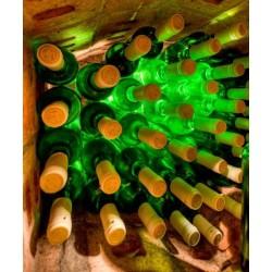 Sticker cuisine bouteilles de vin