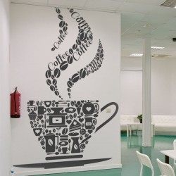 Sticker tasse de café 1