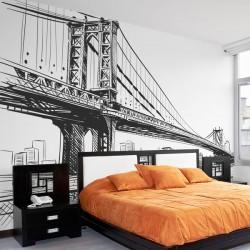 Papier peint pont de Brooklyn