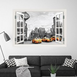 Fenêtre décorative New York