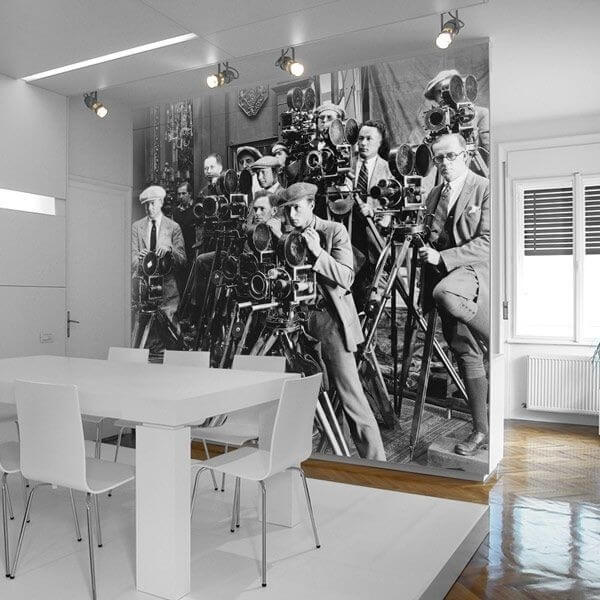 Revêtement mural photographes