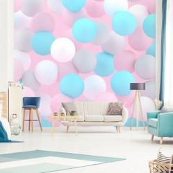 Déco murale ballons