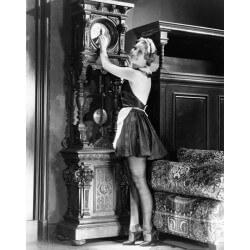 Papier peint femme années 20