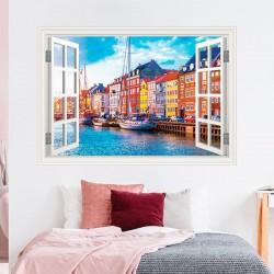 Fenêtre décorative Copenhague
