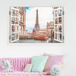 Fenêtre décorative Paris