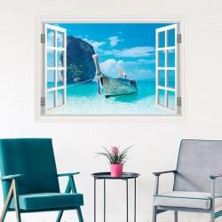 Fenêtre décorative bateau