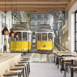 Papier peint metrô Lisboa