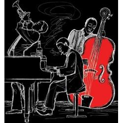 Musiciens stickers pour votre meuble - Stickers pour meuble ...