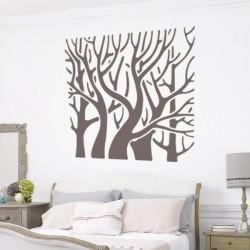 Sticker arbre cadre