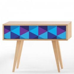 Sticker meubles triangles