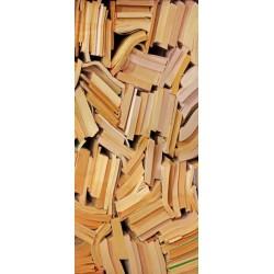 Vinil decorativo livros