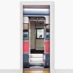 Sticker déco métro