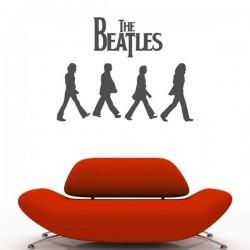 Sticker mural Beatles
